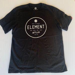 EUC Element Men's Medium Black T-Shirt
